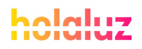 Company logo: holaluz