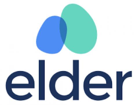 Company logo: elder