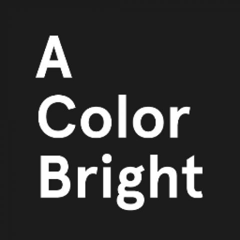 Company logo: a color bright
