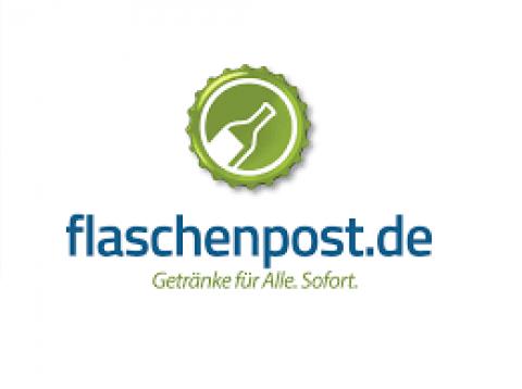 Company logo: flaschenpost