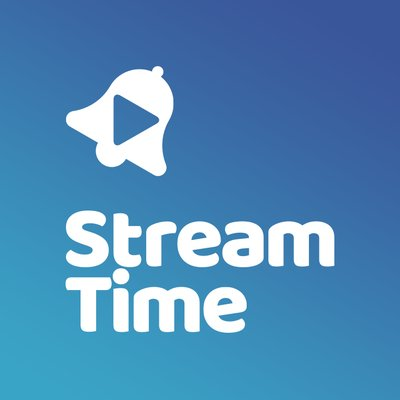 Company logo: stream time