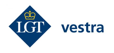 Company logo: lgt vestra