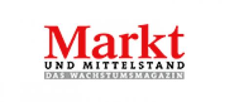 Company logo: markt und mittelstand