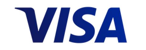 Company logo: visa