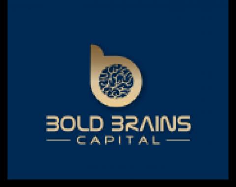 Company logo: bold brains capital