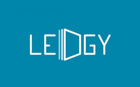 Company logo: ledgy