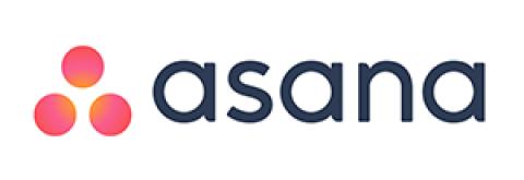 Company logo: asana