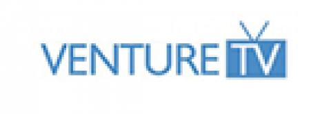 Company logo: venture tv