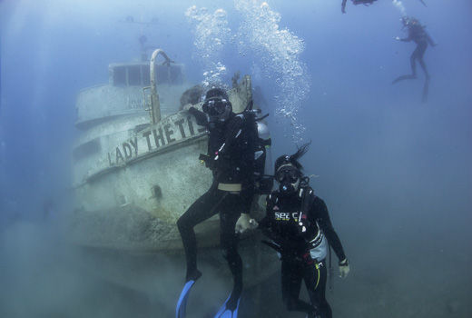 wreck diver 1