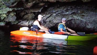 Akamas Blue Lagoon kayak