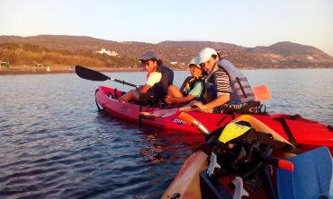 latchi sunrise kayak