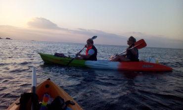 Latchi Sunset kayak