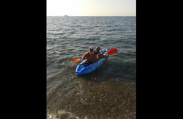 Pomos kayak half day