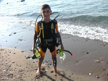 kid bubblemaker diver