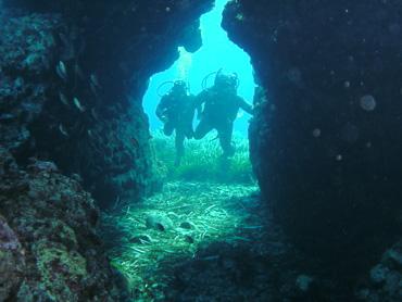 Saint George Island undersea divers in diving adventure trip