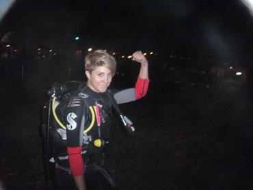 La Plage place night diver