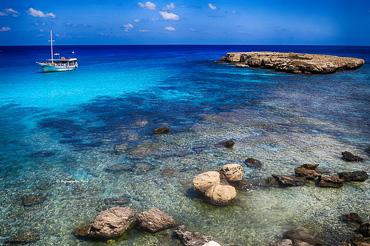 Blue Lagoon diving sea area