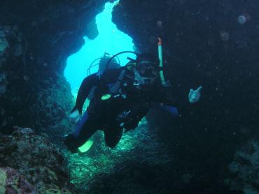 Saint George Island adventure divers under-water