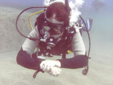 undersea diver