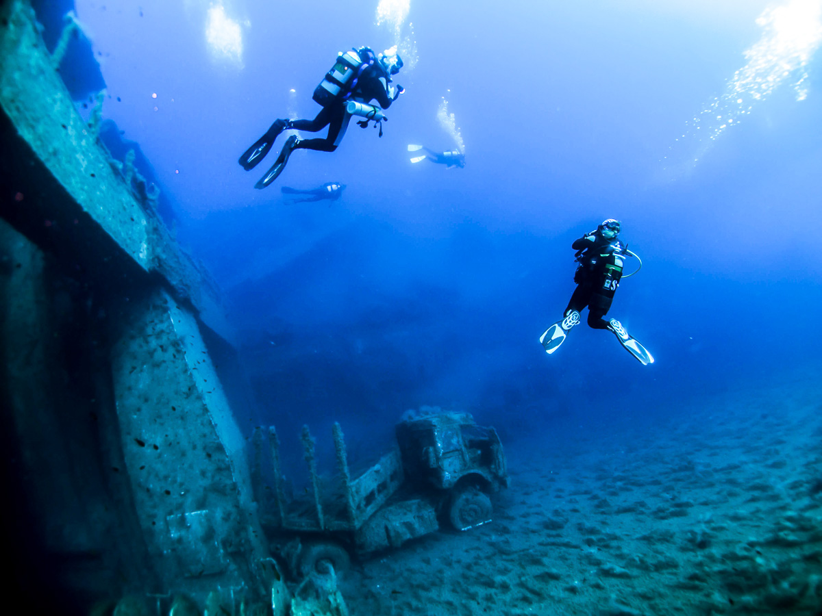 Cool Divers Latchi at Zenobia wreck