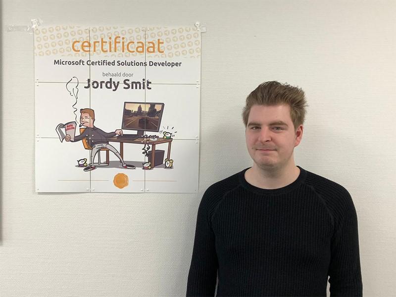 Mcsd developer covadis diploma jordy smit