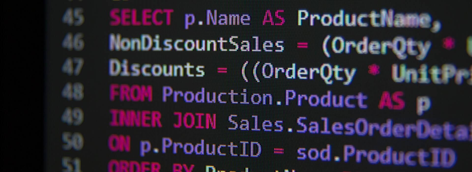 Diensten oplossingen database header