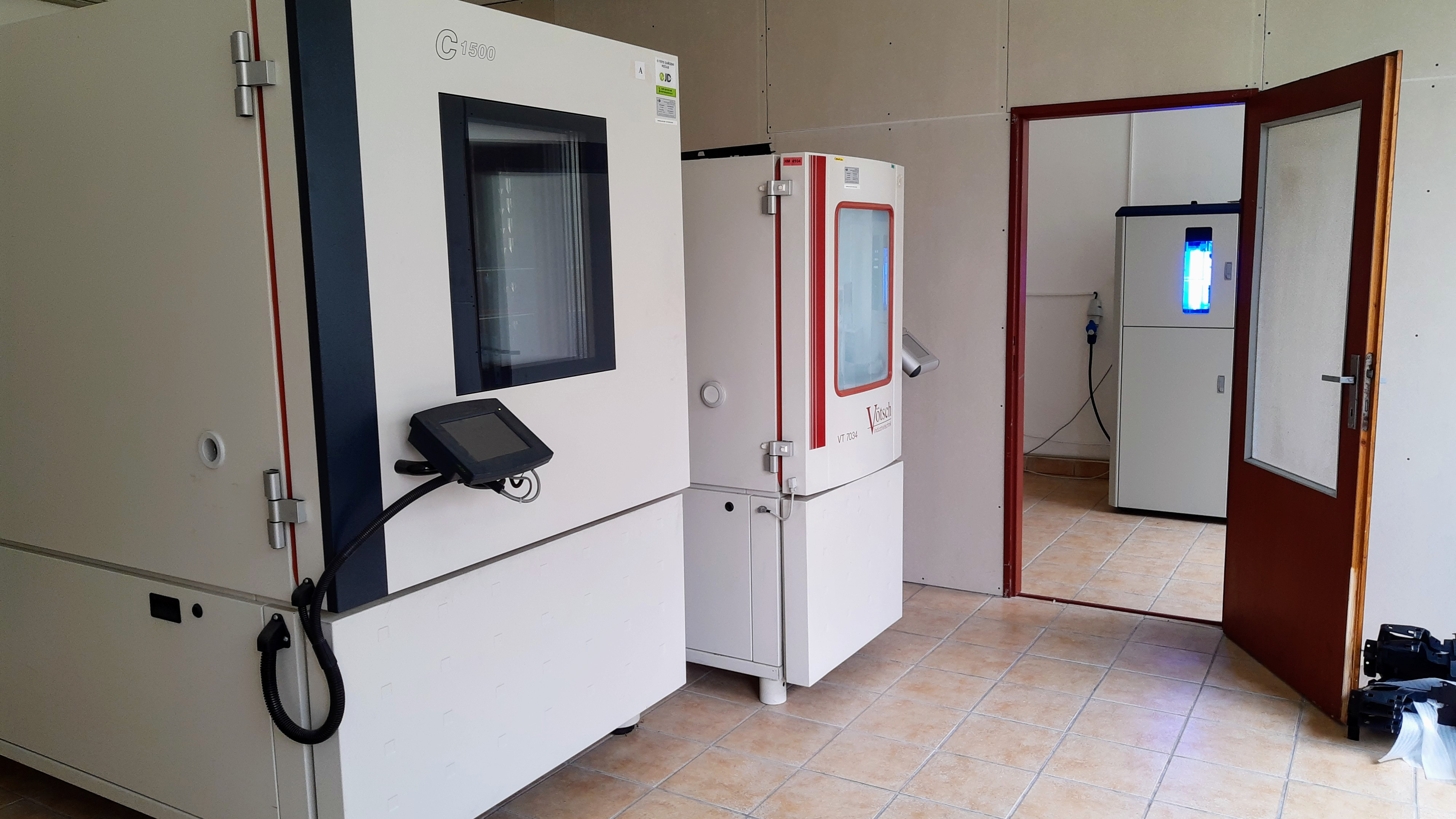 Material Testing and Certification in the accredited laboratory.
