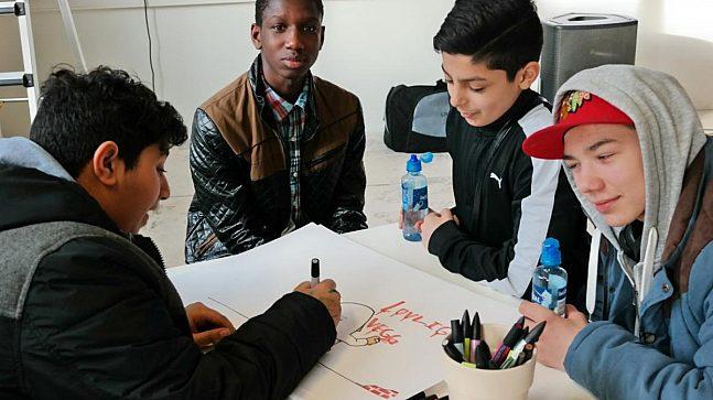 Hovinbyen Medvirkning Elever Okern