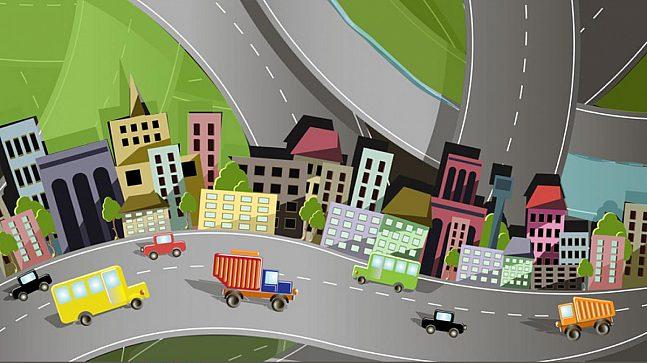 Hovinbyen Tegnekonkurranse Illustrasjon