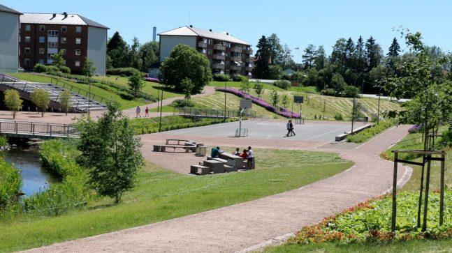 Bjerkedalen park er et godt eksempel på et byøkologisk prosjekt