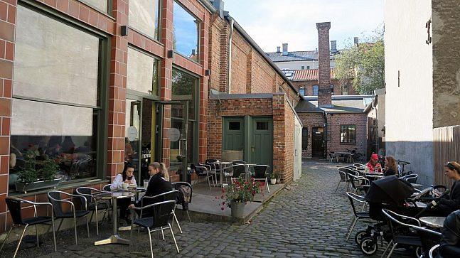 I Thorvald Meyers gate 49 finner du en av Grünerløkkas best bevarte bakgårder.