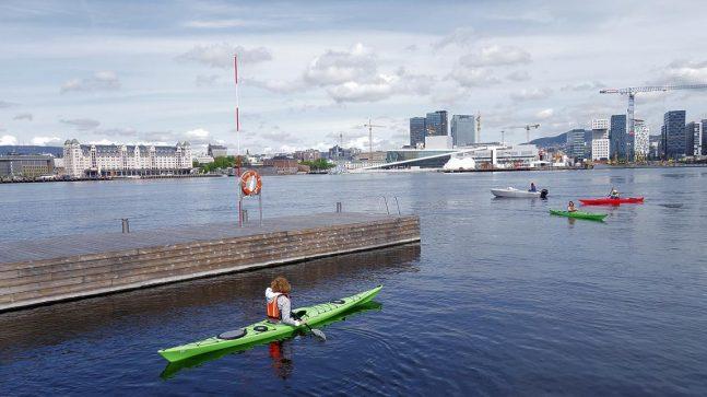 lle kajakkbryggene er positive elementer som bygger opp under Sørengas profil som et byområde med bruksnærhet til fjorden for både beboere og besøkende.