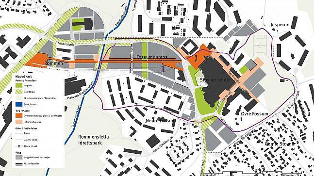 Det samlede potensialet for utvikling av Stovner og Nedre Rommen, omfatter et område som er halvannen gang så stort som Bjørvika-utbyggingen.