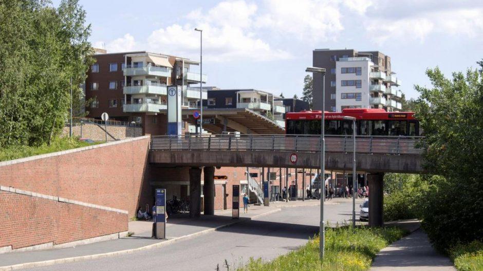 Mortensrud T-banestasjon