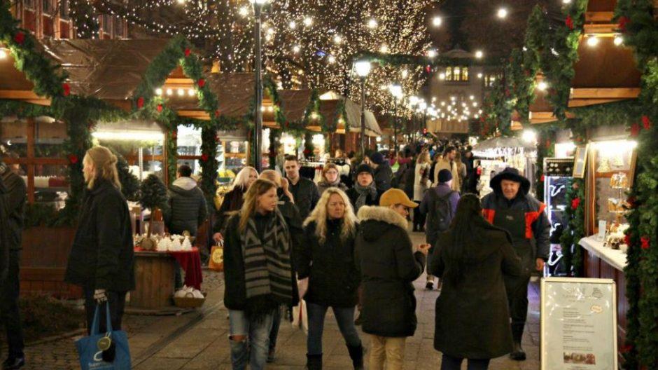 Siden 2011 har det vært julemarked i Spikersuppa.
