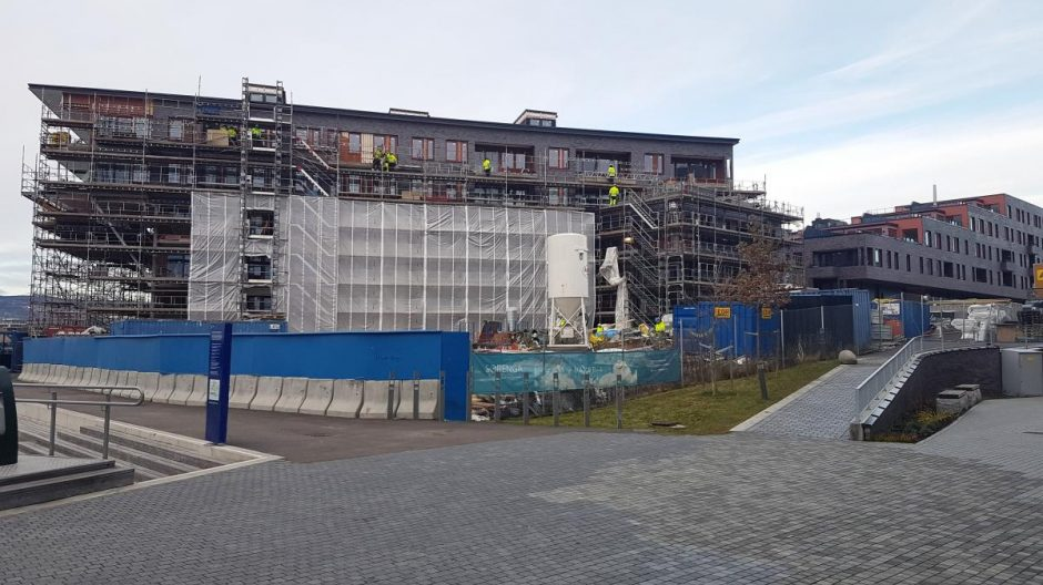 Boligvekstutvalget har lagt fram en liste med 59 forslag på tiltak som kan bidra til økt boligvekst i Oslo (Foto: Rolf Rolid).