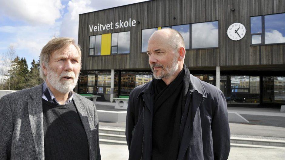 Lars Eivind Bjørnstad og Arne Bergsgard