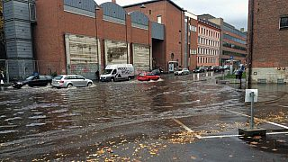 I Oslo har vi også opplevd mye regn. På Blindern er rekorden timesregn på 46,1 mm, det er fra 26. juni i 2014. – Men dette er ikke halvveis engang til Københavnregnet.