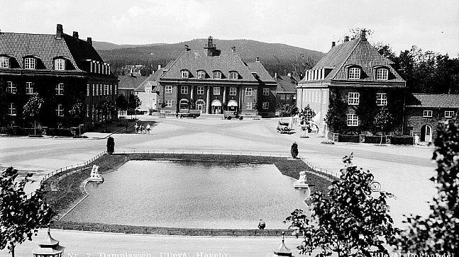 Arkitekt Oscar Hoff var hovedarkitekt bak utformingen av hagebyen.
