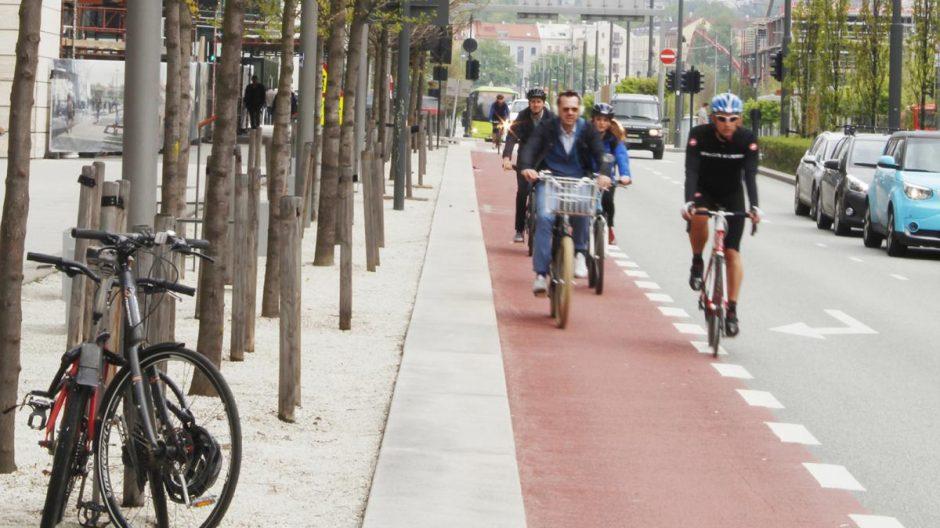 Den store forbedringen for syklister i Dronning Eufemias gate vil komme når Operagata og så Rostockgata blir tilrettelagt for syklister og gående.