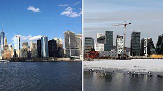 Montasje New York - Oslo