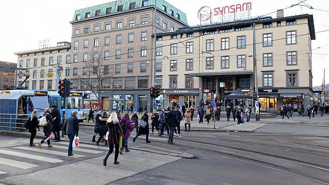 Majorstuen er Norges tredje største kollektivknutepunkt. Området har et stort potensial for byutvikling over dagens sporområde.