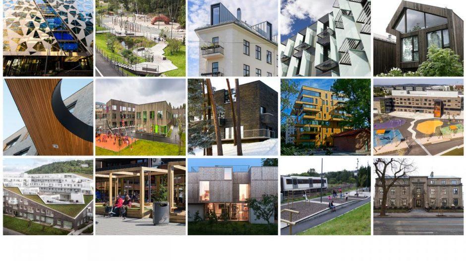 Hvert år deler Oslo kommune ut Oslo bys arkitekturpris for å hedre ny, god arkitektur som er et tilskudd til byen og dens utvikling.