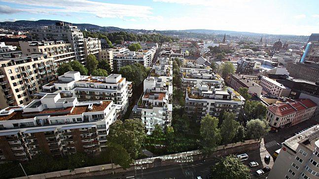 Statsbyggs forslag til gjenbruk av Rikshospital-området imponerte ikke Plan- og bygningsetaten, skriver forfatterne.