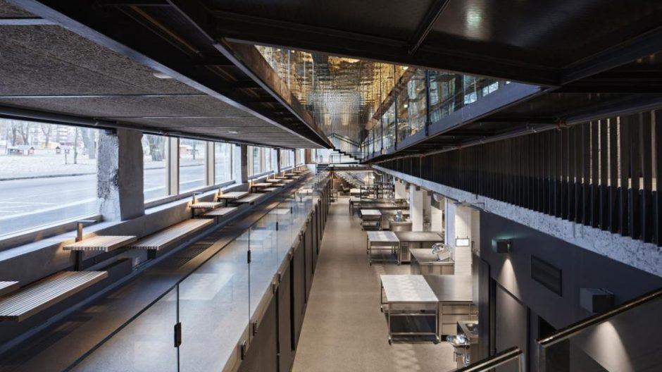 Mat- og merkevarehuset er et industrilokale transformert til kontorbygg. -Vi er svært opptatt av miljøspørsmål, og det er viktig å besvare et gammelt betongbygg.