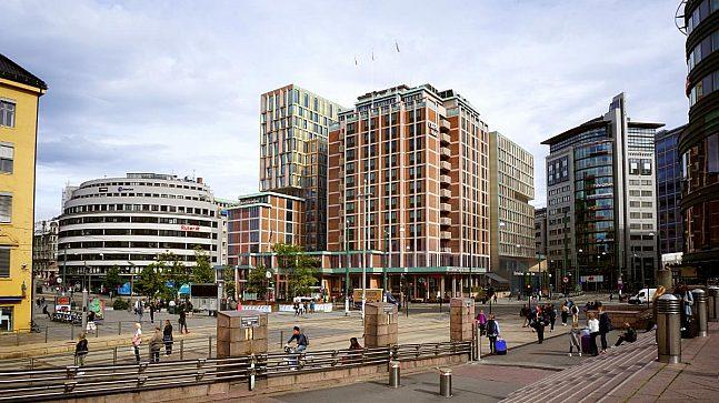 Med utbyggingen av Clarion Hotel The Hub får Oslo en konferansekapasitet som kan tiltrekke seg de virkelig store internasjonale kongressene. (Illustrasjonsfoto: Lund+Slaatto arkitekter).