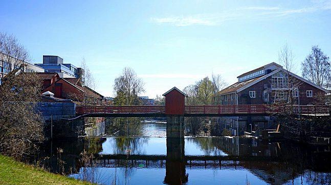 Gamle Industribygg Paa Lysaker Mod