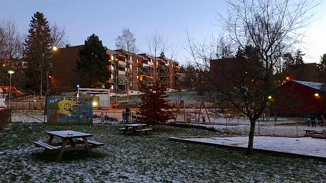 Dr Dedichsensvei i bydel Alna.