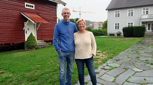 Narve  og Kristin Opsahl