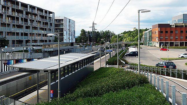 T-banestasjonen på Skullerud